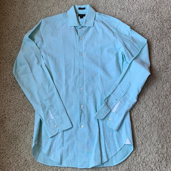 J. Crew 120's 2-Ply Cotton Linen Blend Shirt
